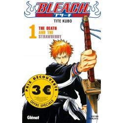 Bleach T.01 - 3 euros