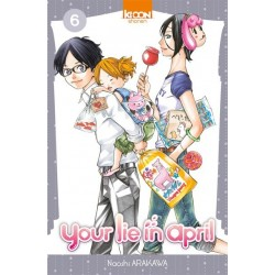 Your lie in april T.06